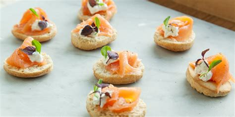easy smoked salmon canapes smoked salmon canap 233 recipe great chefs