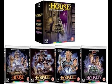 House Box Set by Unboxing Arrow The House Complete Collection Parts 1 2 3 4 Dvd Box Set Limited