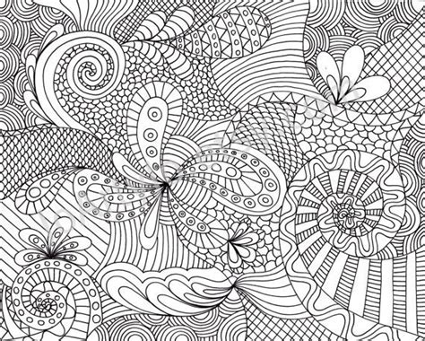 zentangle pattern color printable adult coloring pages coloring page printable