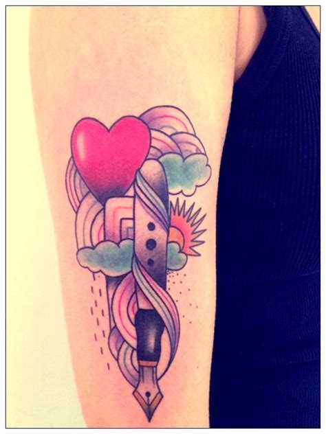 tattoo pen toy tattoo by amanda toy pen and rainbow tatouages pinterest