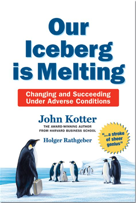 kotter our iceberg is melting our iceberg is melting book review craig t owens