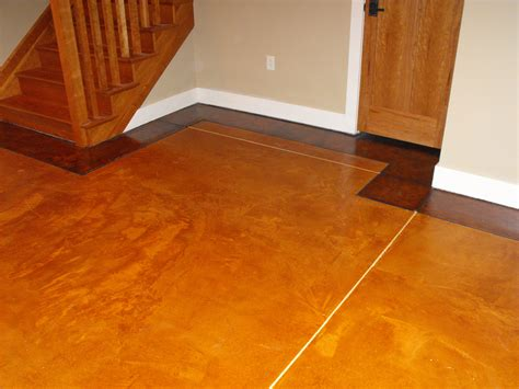 Decorating Concrete Floors by Decorative Resurface Stained Concrete Floor Lima Ohio Fort Wayne Indiana Nick Dancer Concrete