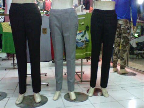 Celana Kantor Wanita 1 jual celana bahan kantor kerja formal wanita cewek basic slim fit master cendol store
