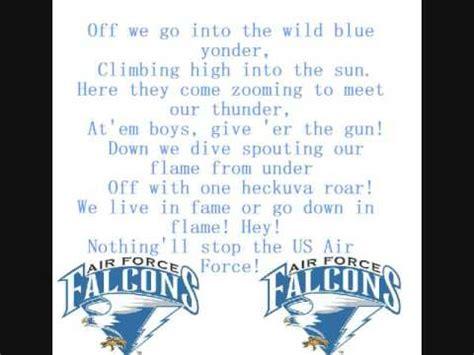 air sog air academy falcons fight song