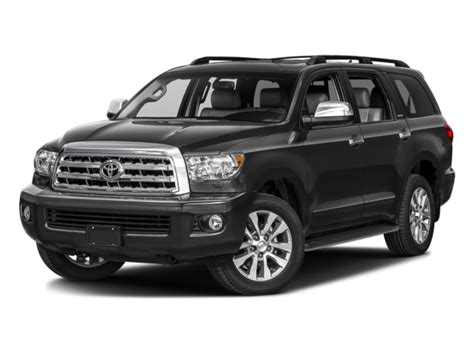 toyota sequoia msrp new 2017 toyota sequoia limited 4wd msrp prices nadaguides