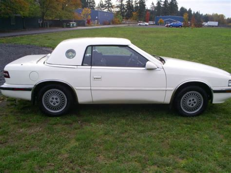 Chrysler T C by 1990 Chrysler T C By Maserati V6 Top Convertible Coupe