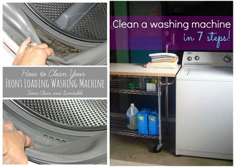 how to clean a washing machine cleaning the inside of cool creativity how to clean washing machine