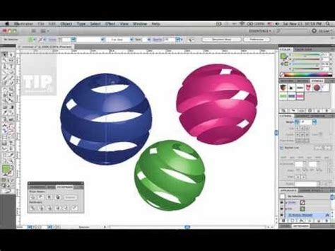 tutorial adobe illustrator cs5 bahasa melayu tip tutorial 3d ribbon sphere illustrator doovi