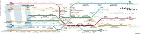 munich metro map u bahn mapa metro de munich alemania