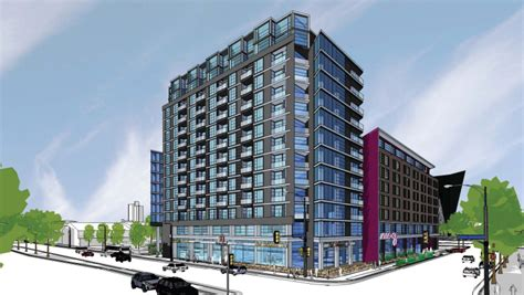 Apartments Near Stadium Minneapolis Files Iron Clad Plans For Hotel And Apartments