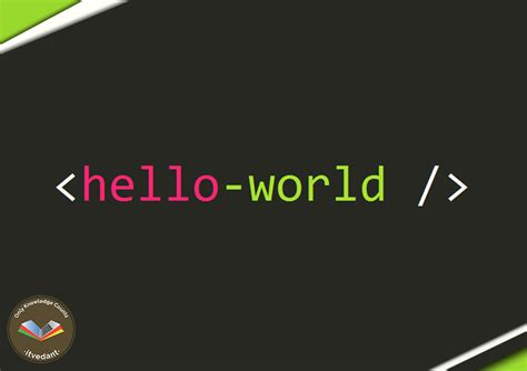 Hello World In All Programming Languages Itvedant Hello World