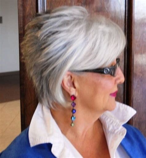 hairstyles with glasses pinterest short hair for women over 60 with glasses short