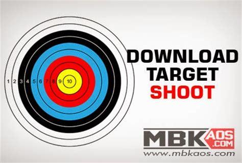 Sasaran Tembak Shooting Target Paper Circle target tembak jpg mbkaos