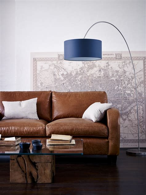 sussex style december  vintage leather sofa leather