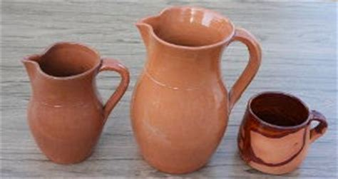 bicchieri in terracotta cidano di di sardo