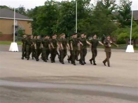 parade ta part 1 pirbright ta passing out parade shaky footage