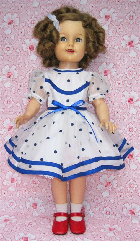 vintage shirley temple doll makeover q is for quilter
