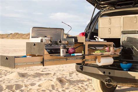slide out drawers for rv new slide out kitchens for trucks and overland vehicles