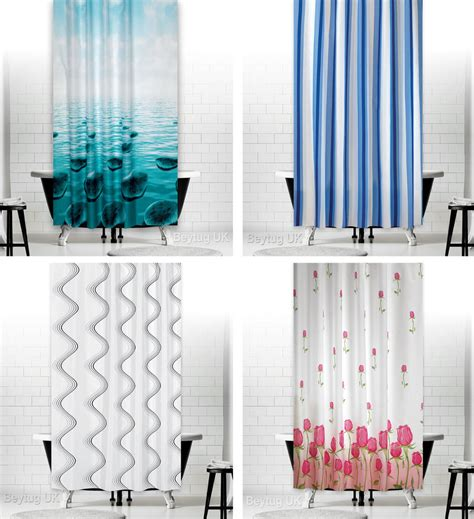 shower curtain sizes bathroom shower curtains extra long wide or narrow