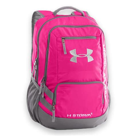 under armoir backpack under armour hustle backpack ii tropic pink