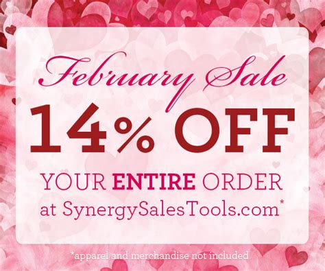 Is February Presidents Month Or Special Sales Month by Synergy Worldwide United States Feb Sales Tools