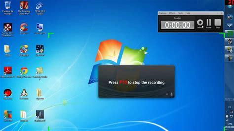 grabar escritorio windows 7 mejor programa para grabar la pantalla de tu pc