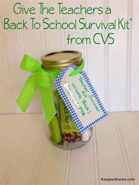Cvs Giveaway - give the teachers a back to school gift from cvs giveaway