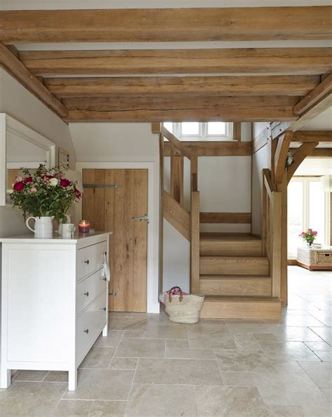 country style floor tiles open plan cottage interior border oak interiors