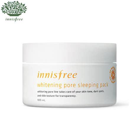 Harga Innisfree Whitening Pore Sleeping Pack box korea innisfree whitening pore sleeping pack