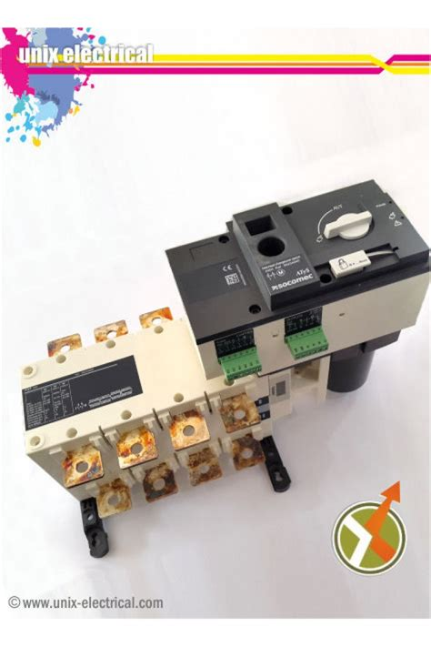 Ohm Saklar Change Switch Cos Socomec Sircover 4p 630a change switch 4p motorized atys r socomec