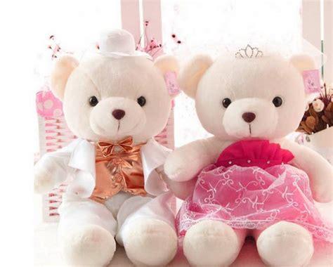 wallpaper of couple teddy bear cute images cute hd wallpaper