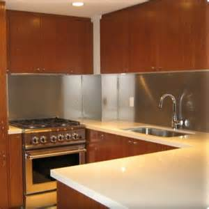 metal backsplash panels custom metal home