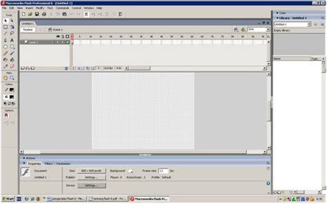 cara membuat film animasi pendek dengan flash cara membuat animasi dengan flash pengenalan macromedia flash