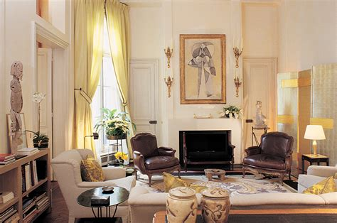 Elegant Livingrooms jacques grange interior design s french connection