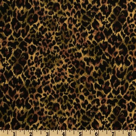 Animal Print Quilting Fabric by Object Moved