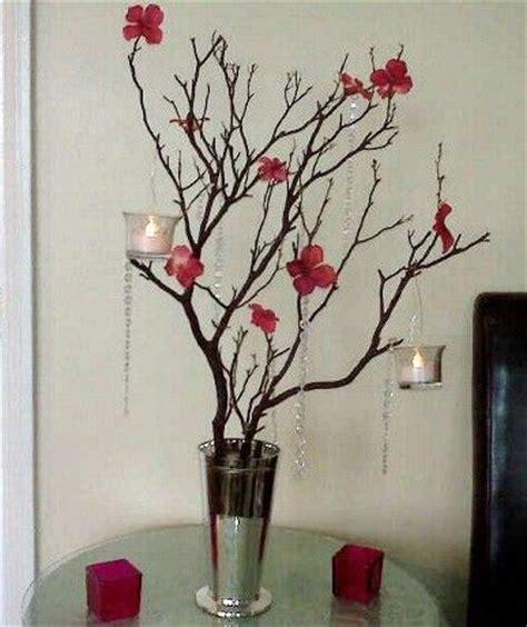 diy manzanita tree centerpiece quinceanera diy
