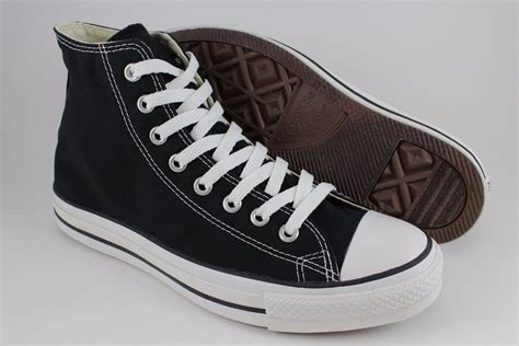 Converse Hi Monoblack Indonesia Madeunisex converse all hi high chuck black white classic