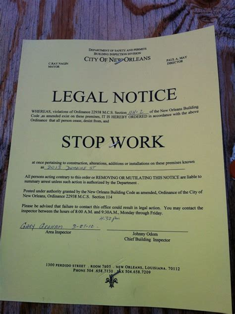 Stop Work Order by Despite 200 000 In Recovery Grants Treme Mansion Faces