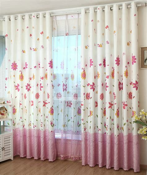pink curtains for girls room eco friendly curtains for kids cartoon curtains sheer