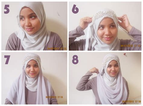 how to drape a hijab technique for how to wrap a hijab for a round face person