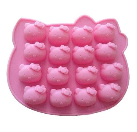 Cetakan Silikon Silicone Mold R7 cat silicone baking cake mold candle mold bakeware wholeport cat accessories for humans