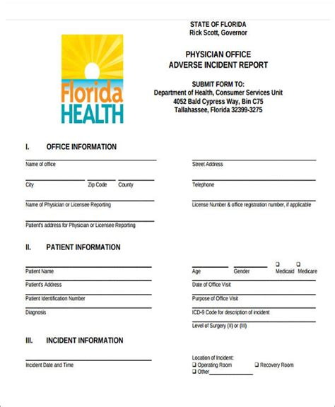 office incident report template 47 incident report sles
