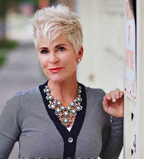 edgy haircuts women 40 s the cutest short hairstyles over 40 fabulous after 40