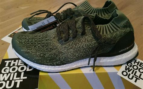 Adidas Ultra Boost Uncaged Olive Green 1 adidas ultra boost grey olive