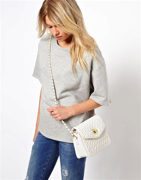 Ruched Across Bag At Asos by Object Moved