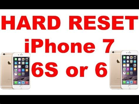 reset apple iphone 8 7 6s 6 or reset iphone to factory settings