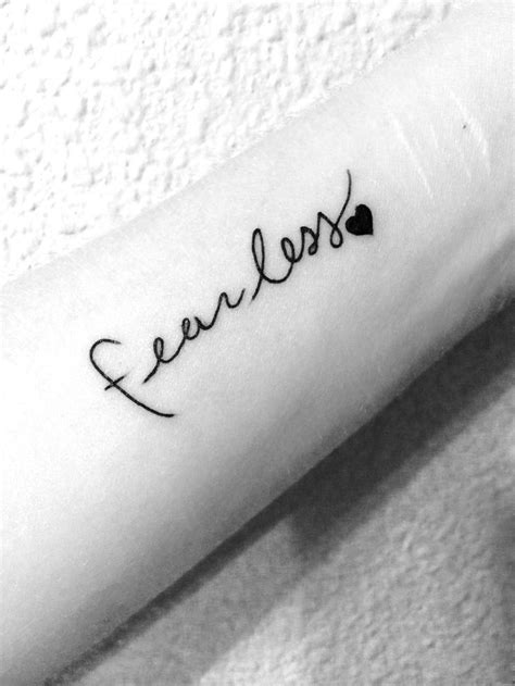 tattoo love fearlessly 25 best ideas about fearless tattoos on pinterest love
