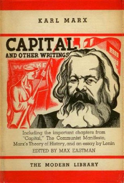 marx capital and the karl marx in the modern library