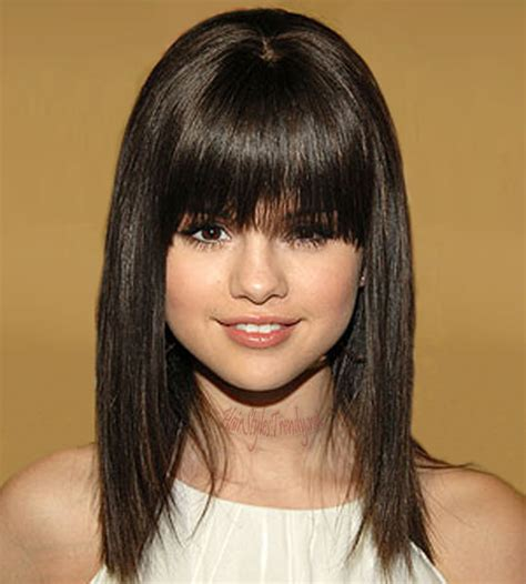 woman playing with hair flirting newhairstylesformen2014com celebrity hairstyles 2015 selena gomes hairstyle bangs