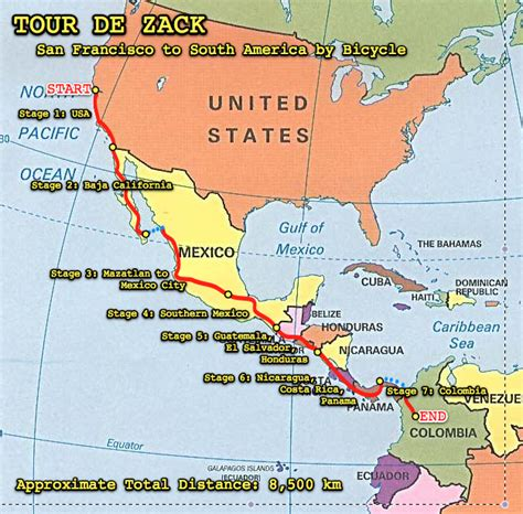 and south america map america map tour de zack 187 zack skerritt